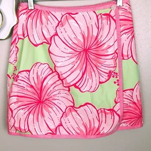 Lilly Pulitzer reversible skirt Musical Monkey